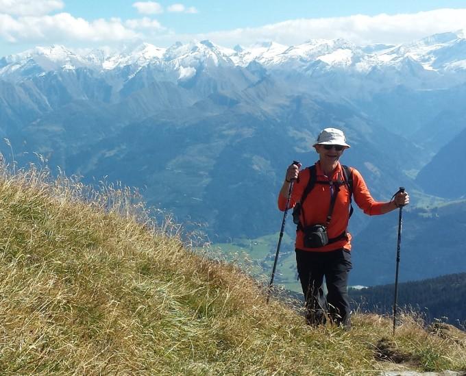 pohyb v Alpách