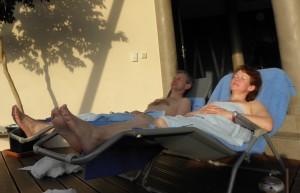 relaxace Orlíkovi